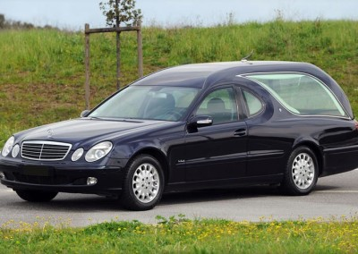 Mercedes Limousine Blu