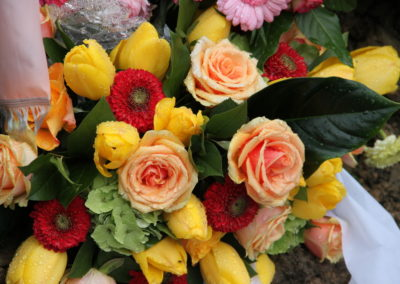 Composizione tulipani